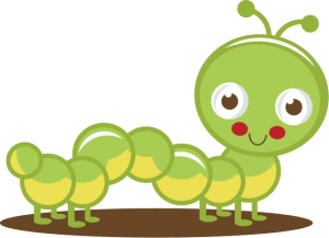 Caterpillar clipart cute. Pin on inspiration