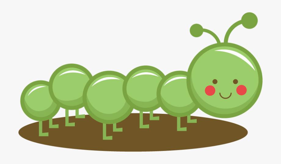 Caterpillar clipart cute. Svg cut files for