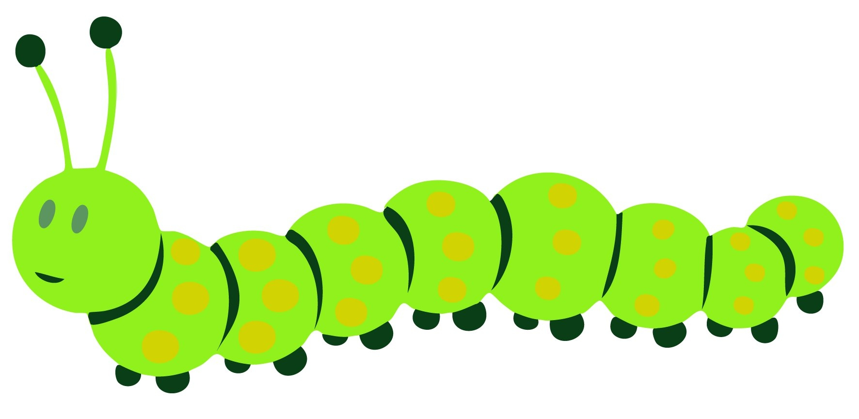 Fresh gallery digital collection. Caterpillar clipart cute