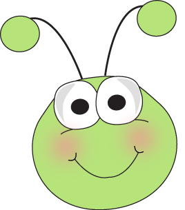 Bug cartoon grasshopper clip. Insect clipart face