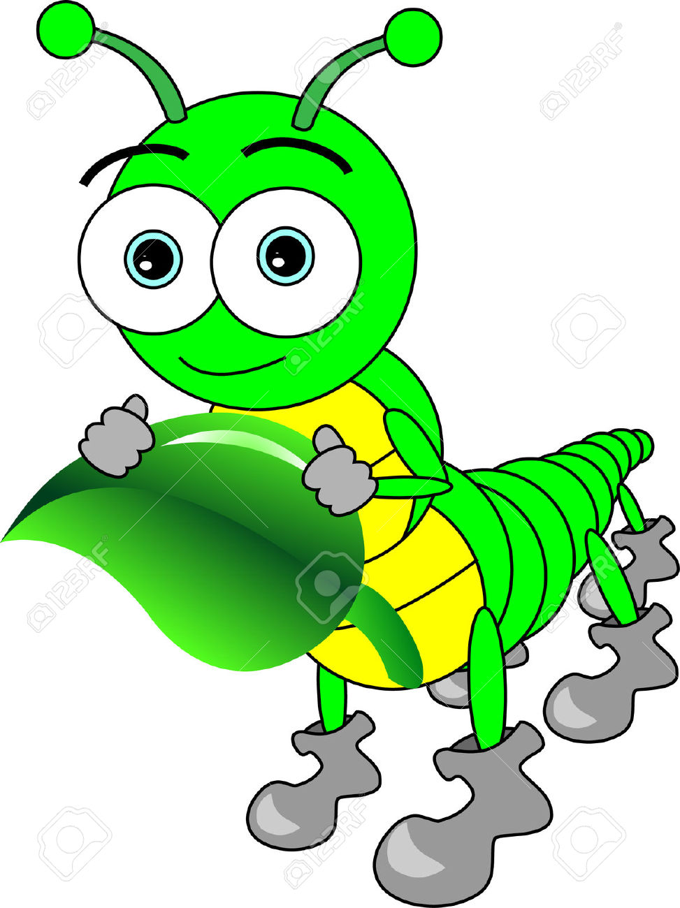Free clipartmansion com centipede. Caterpillar clipart green worm