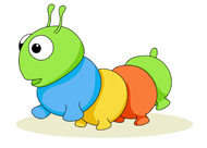 Search results for clip. Caterpillar clipart insect