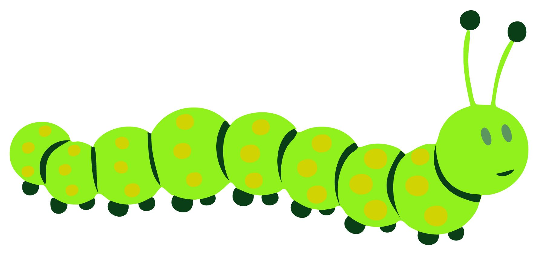 Images for head template. Caterpillar clipart insect