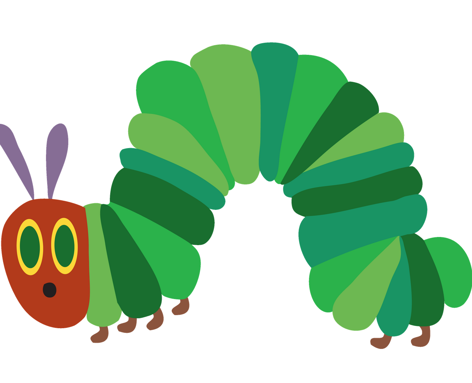 Nursery image result for. Worm clipart caterpillar number
