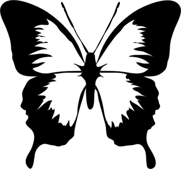 Clipart butterfly couple. Clip art stenciling and