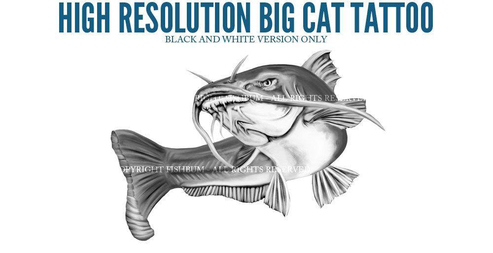 Catfish clipart blue catfish. Tattoo google search crafts