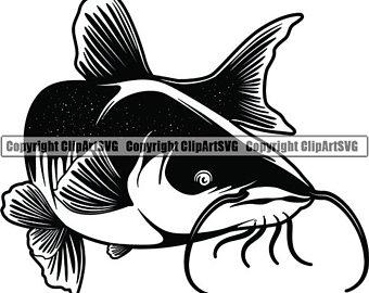Clip art etsy . Catfish clipart channel catfish