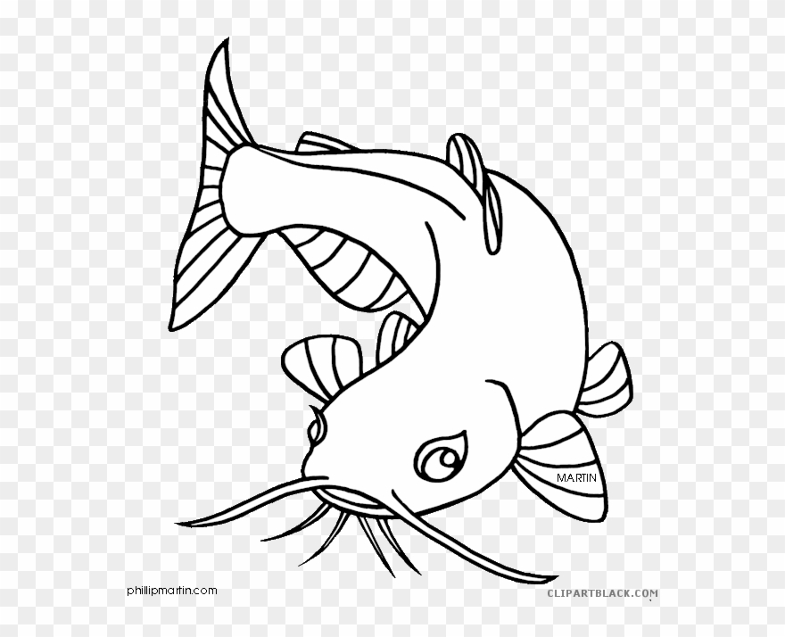 Library black and white. Catfish clipart channel nebraska