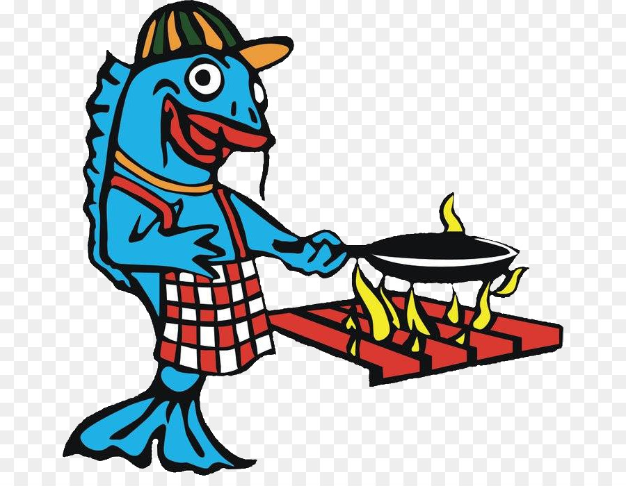 Fish cartoon illustration menu. Catfish clipart fried catfish