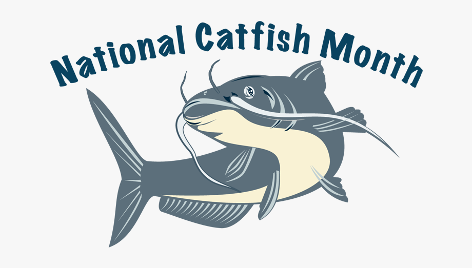 Catfish clipart game fish. National month logo cliparts