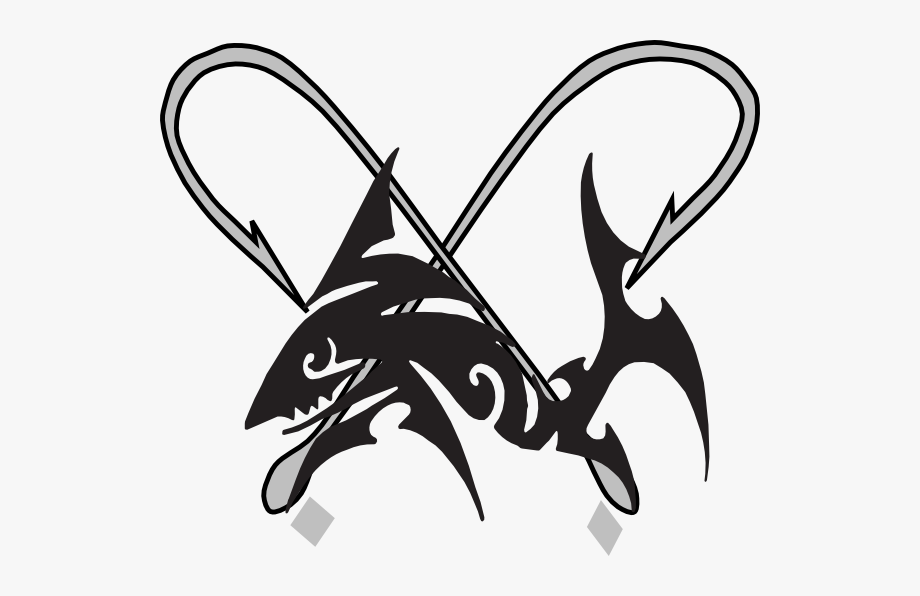 Catfish clipart tribal. Drawing fish clip art