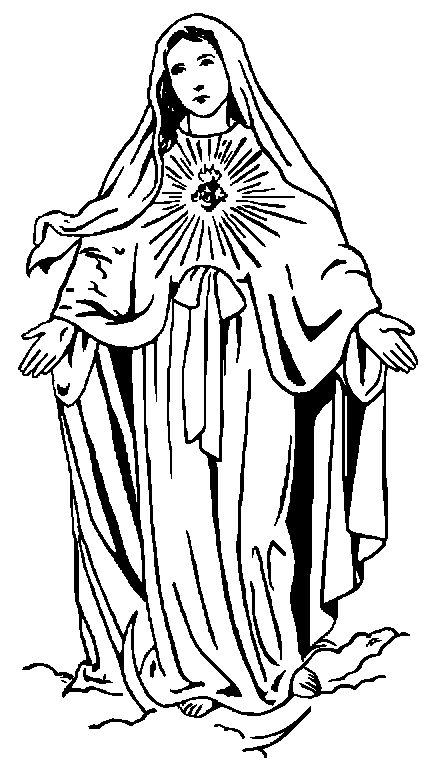best imagens sacras. Catholic clipart black and white