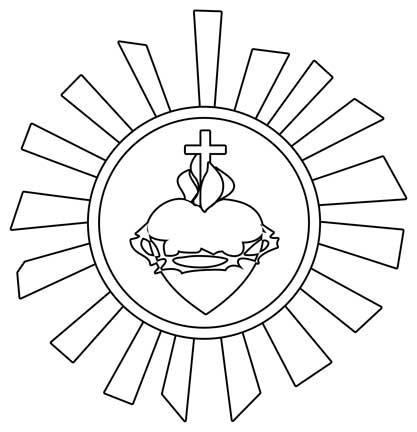 Catholic clipart black and white. Clip art free clipartix