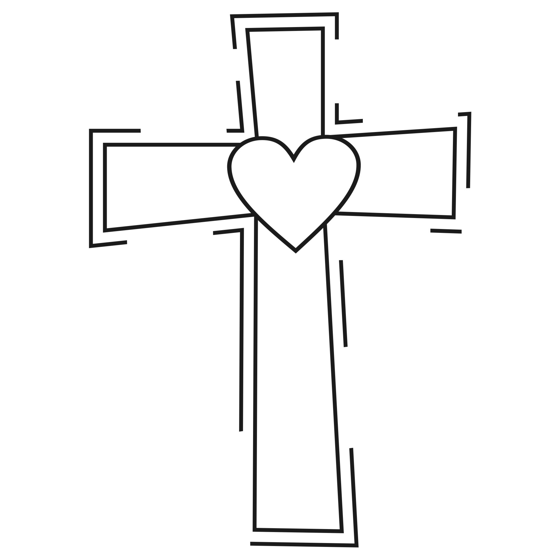 Cross clip art clipartllection. Catholic clipart black and white