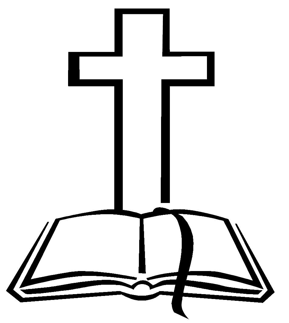 Catholic clipart black and white. Cross