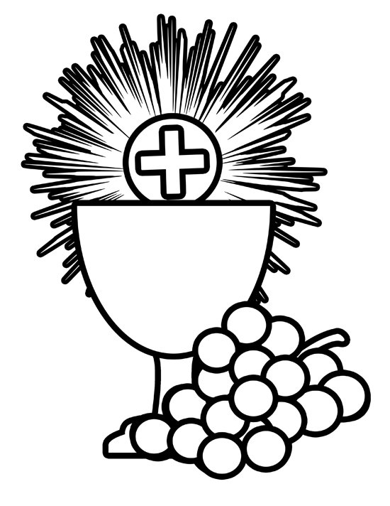 Catholic clipart black and white. Free download clip art