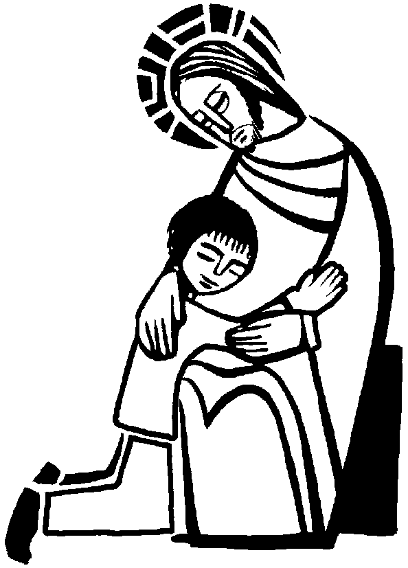 christian clipart drawing