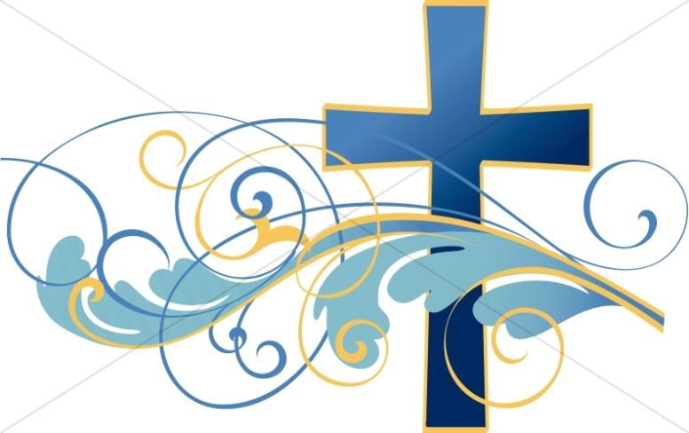 Swirl clipart cross. Swirls and christian