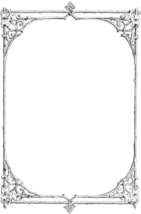 Twig frame by hauntingvisionsstock. Catholic clipart borders