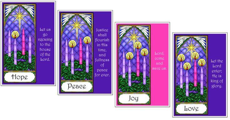 Advent wreath clip art. Catholic clipart bulletin