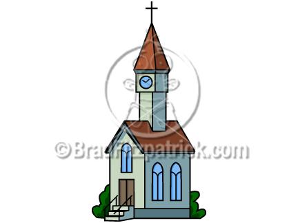 Church clip art graphics. Catholic clipart cartoon