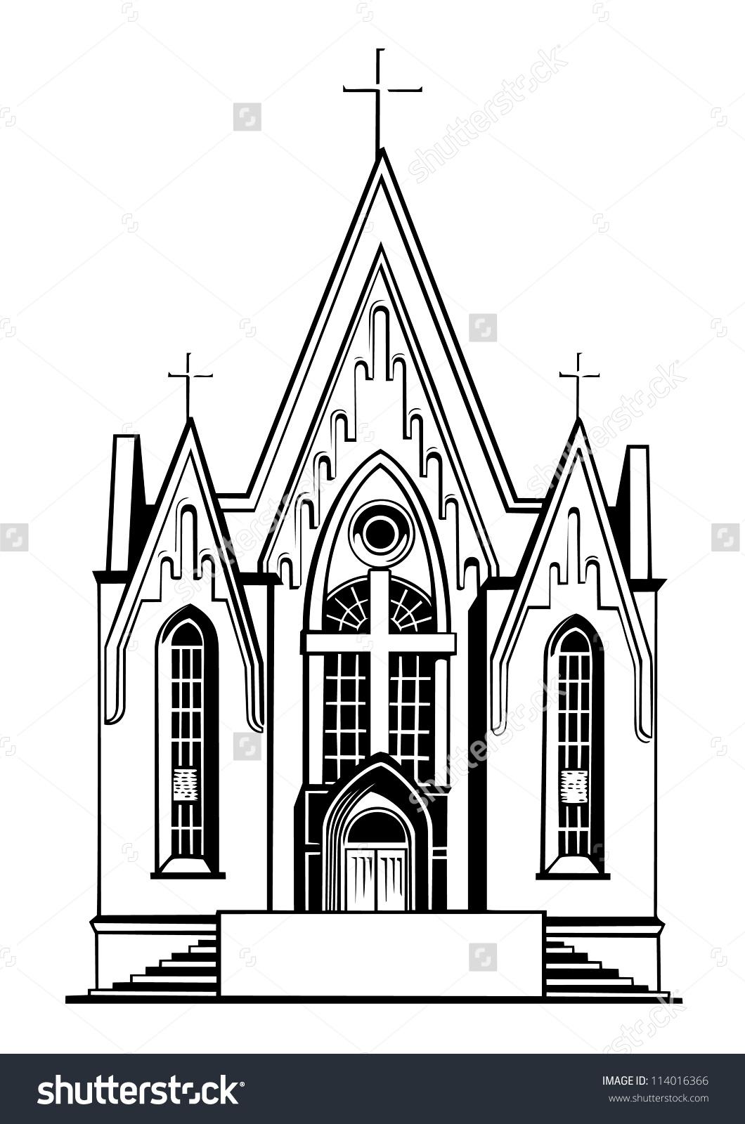 Church clipart catholic church.  clipartlook