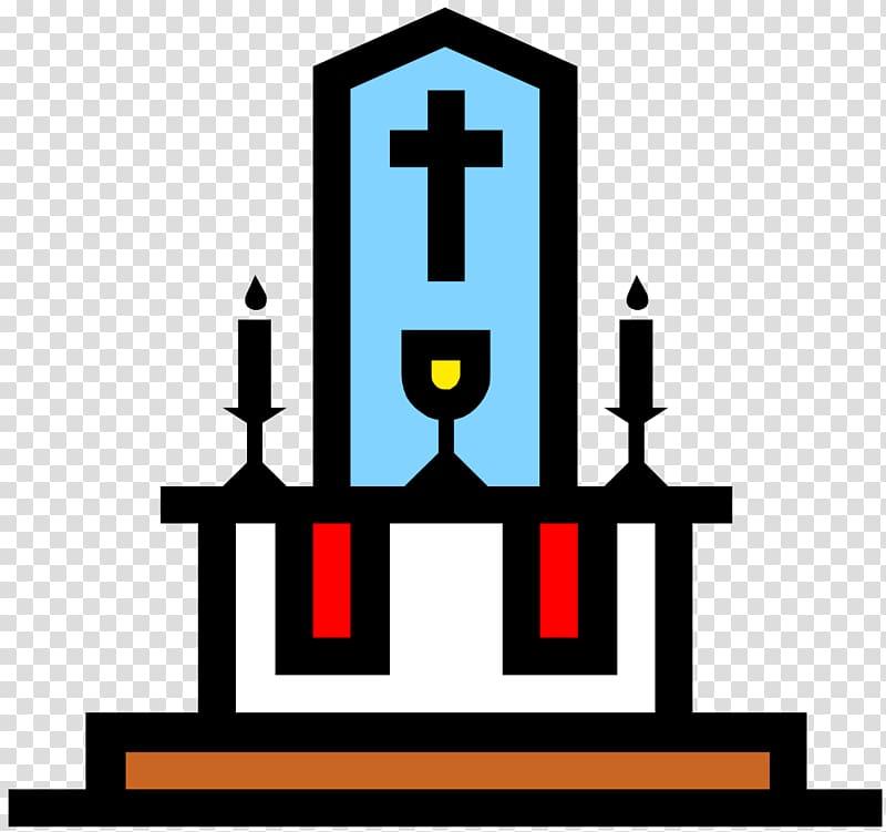 Catholic clipart catholic church. Altar in the server