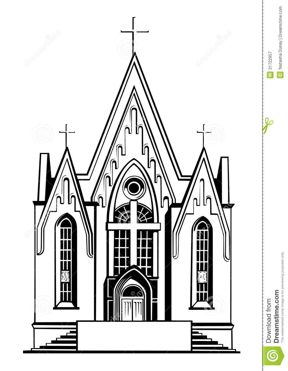 Catholic clipart catholic church.  collection of black
