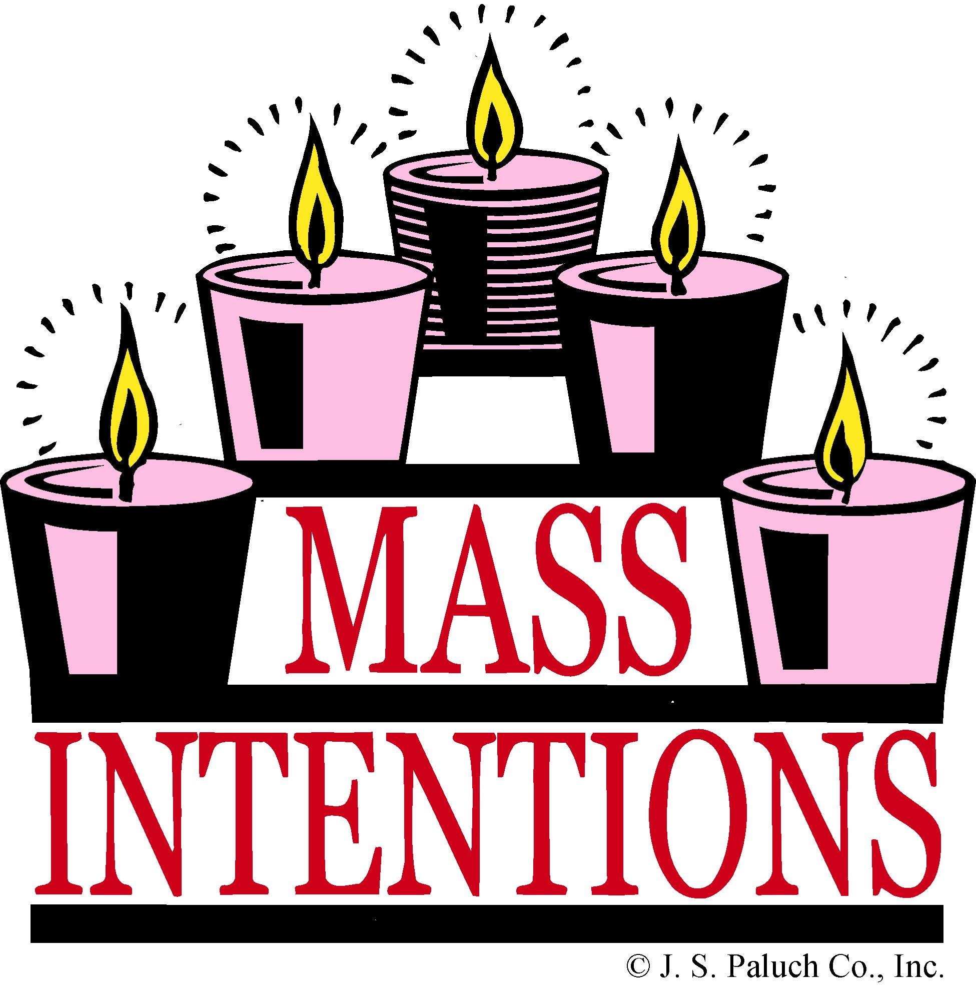 Catholic clipart catholic mass. Intentions diocese of lexington