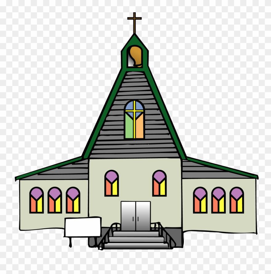 Church clipart catholicism. Black clip art free