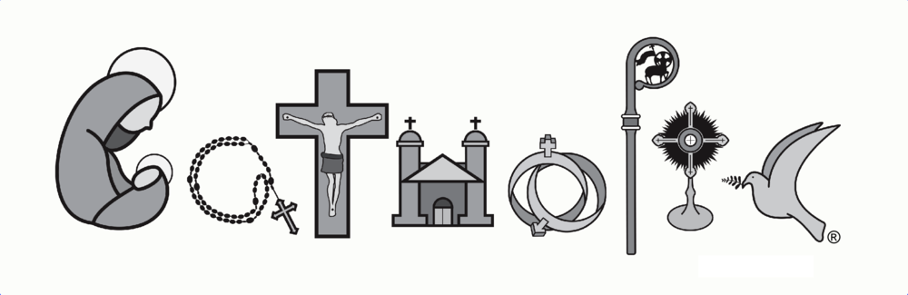 Catholic clipart catholicism. The word is