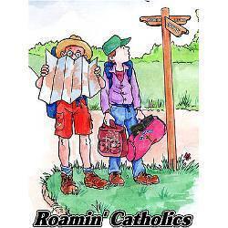 Catholic clipart catholicism. Fundraising trips roamin catholics