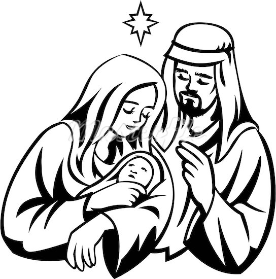 collection of high. Catholic clipart christmas