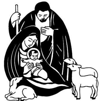 catholic clipart christmas