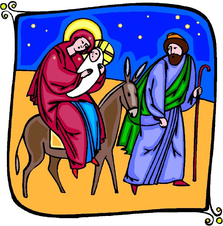 Free catholic christmas cliparts. Nativity clipart religous