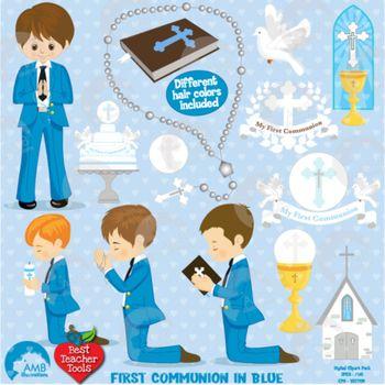 Christian first communion boys. Catholic clipart cute