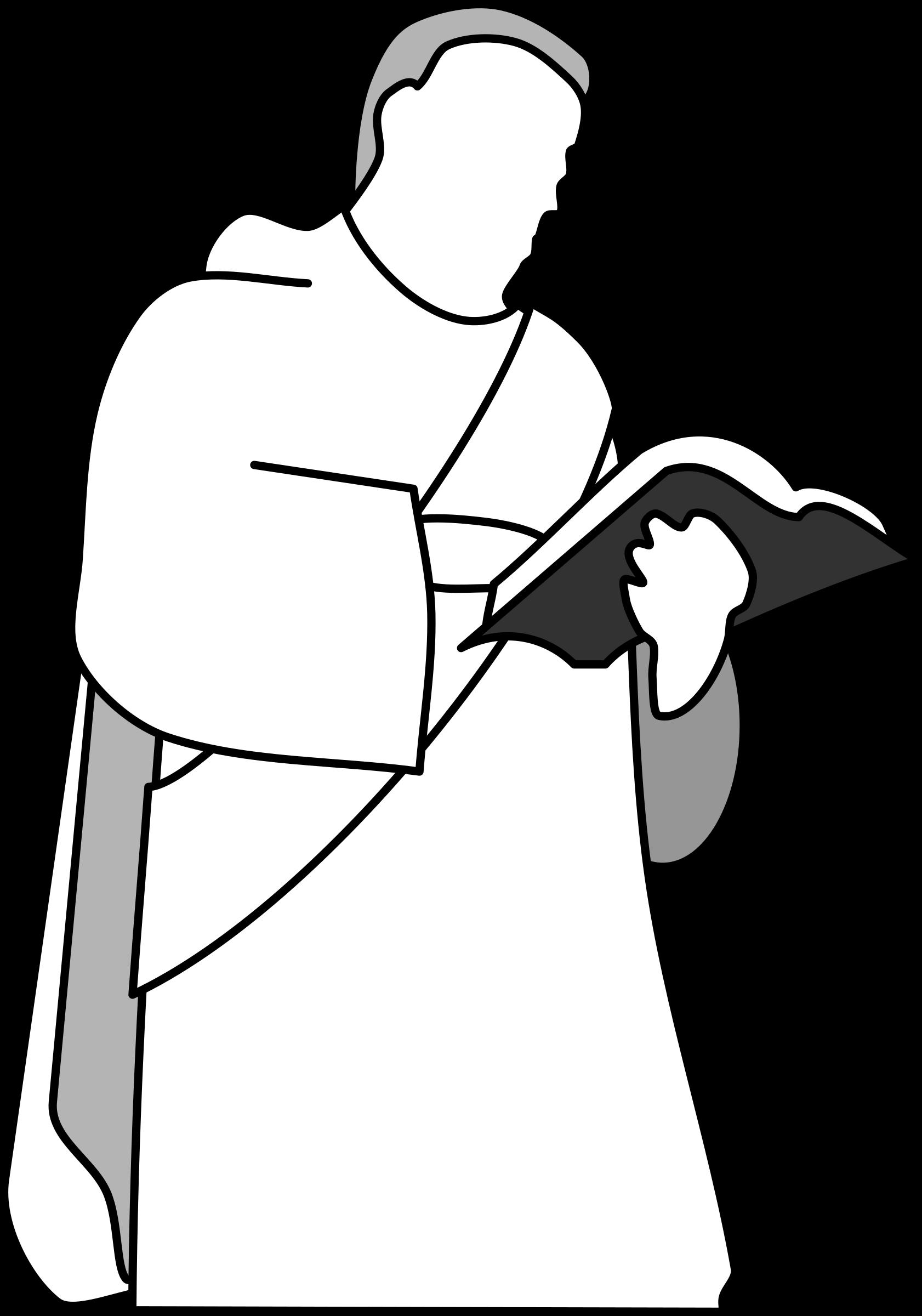 Deacon big image png. Clipart church person