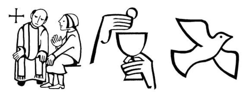 Preparing for confession and. Funeral clipart first reconciliation