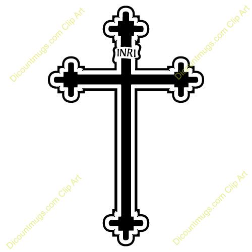 Crucifix clipart. Roman catholic cross designs