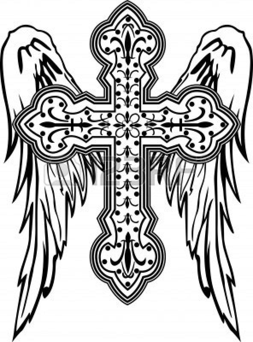 Catholic clipart fancy. Cross clip art free
