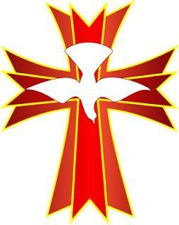 Cross clip art id. Catholic clipart holy spirit