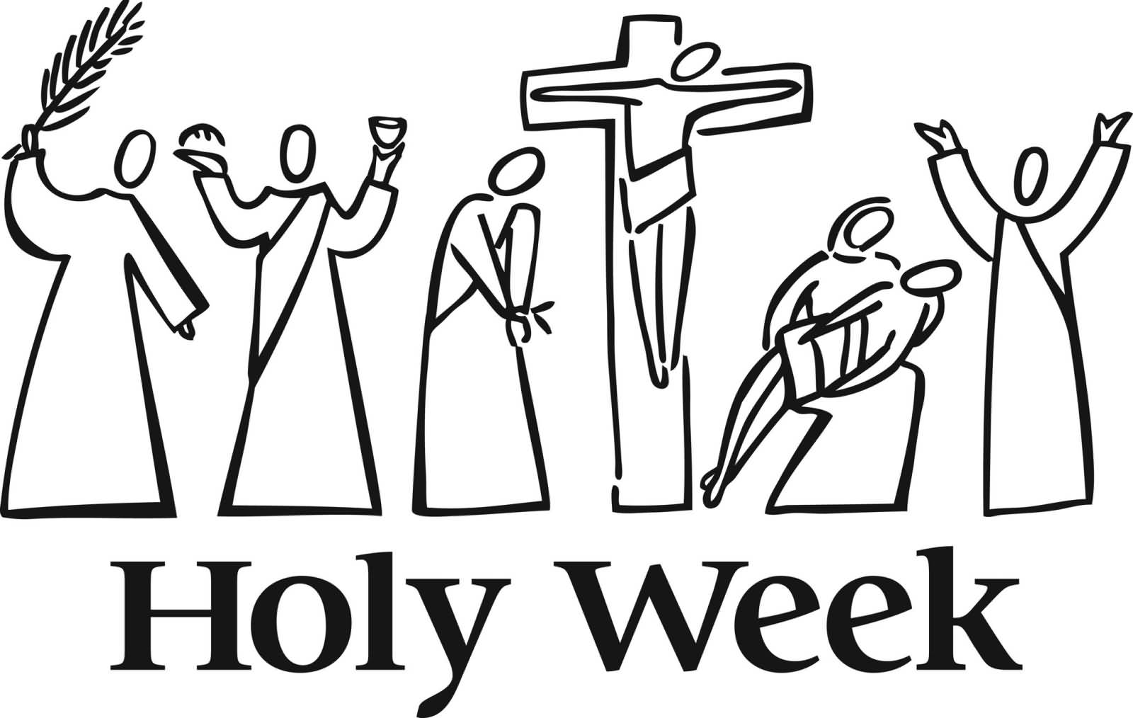 Catholic clipart holy week.  beautiful wish pictures