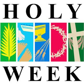 Graphic sq rgcn green. Catholic clipart holy week