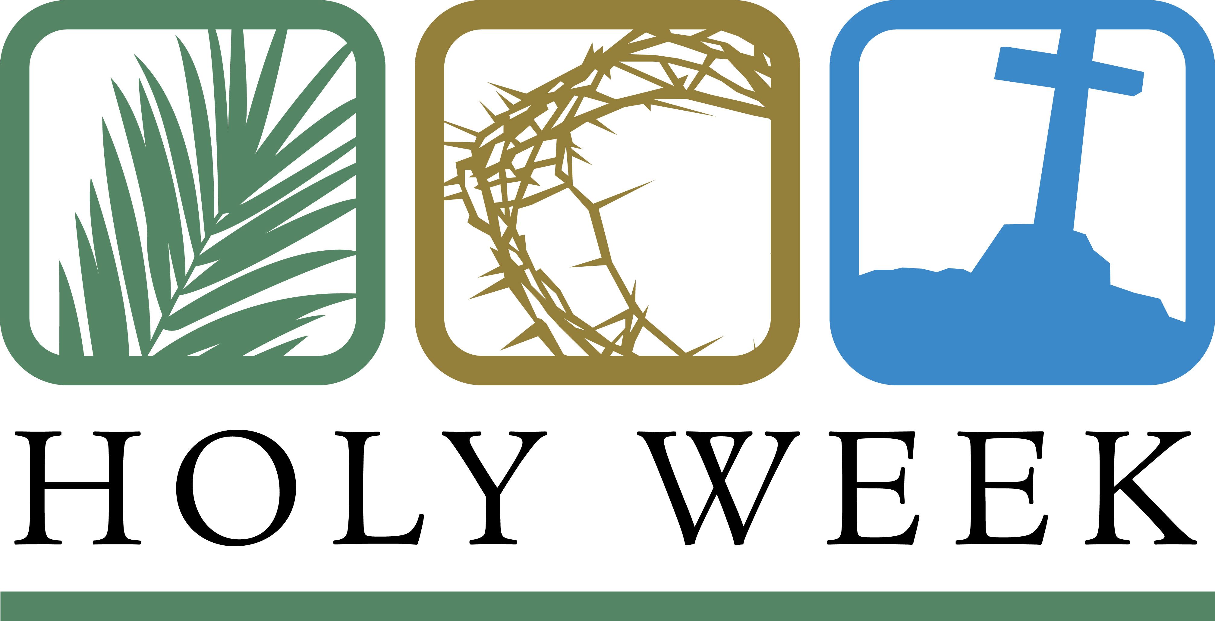 . Catholic clipart holy week