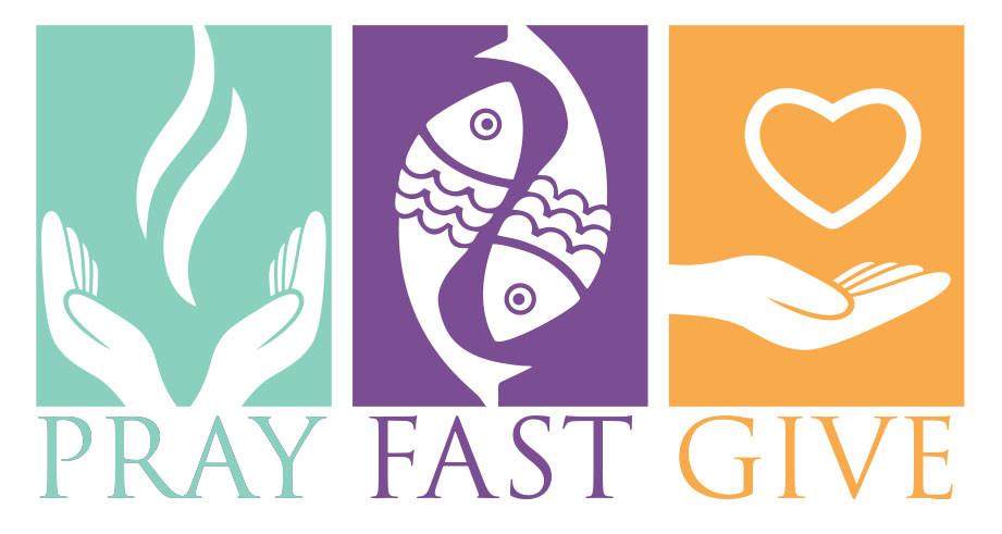 Lenten fast and abstinence. Catholic clipart lent