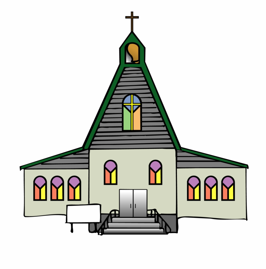 Steeple clip art png. Catholic clipart lutheran church