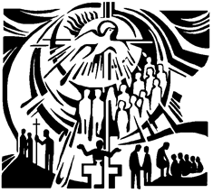 Catholic clipart pentecost. Where is the liturgical