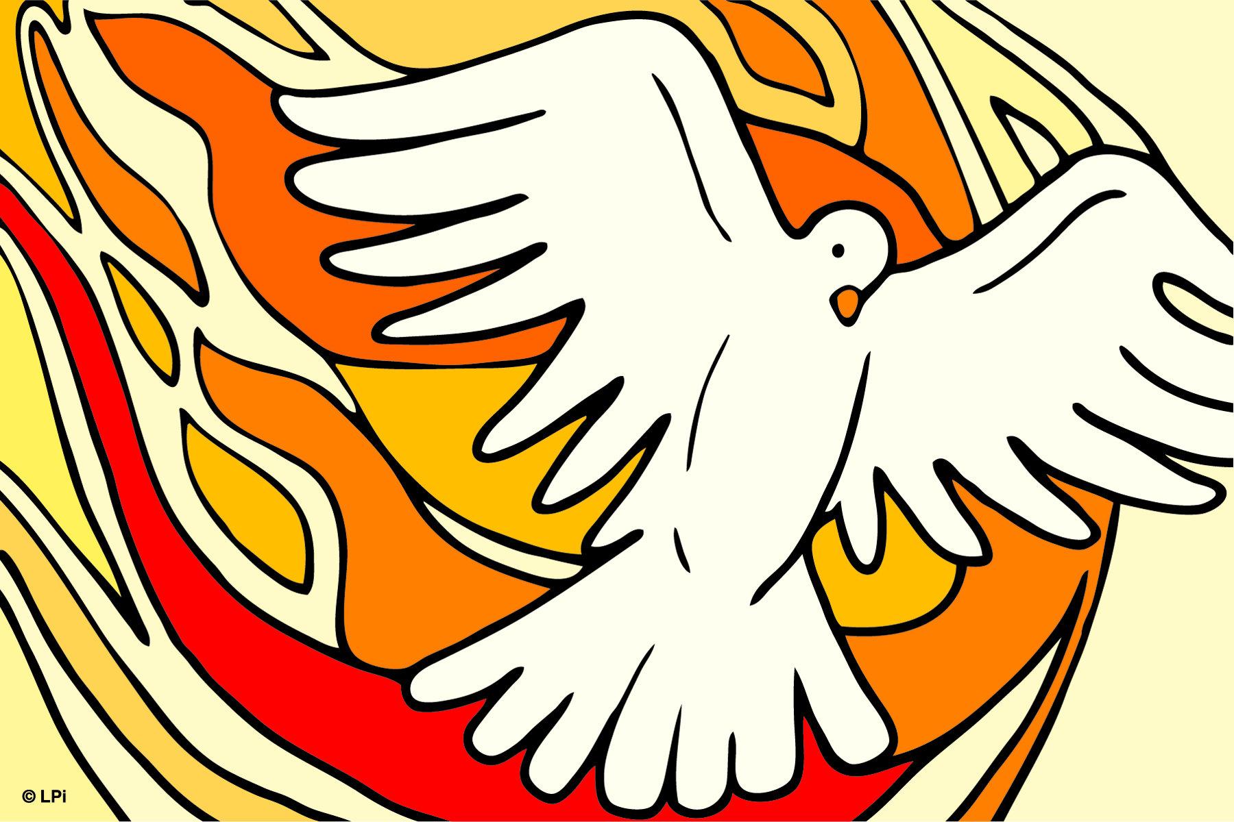 Catholic clipart pentecost. St james church bpentecostcfc