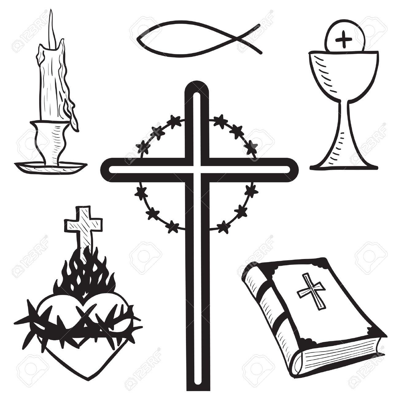 Catholic clipart roman catholic. Cross drawing at getdrawings