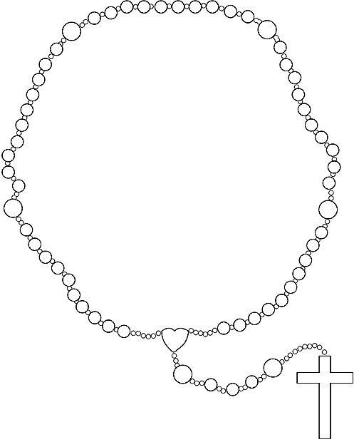 Clip art faith drawing. Catholic clipart rosary